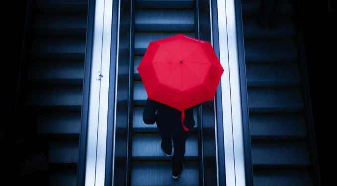 Under My Umbrella is a Street Photography Series Shot in