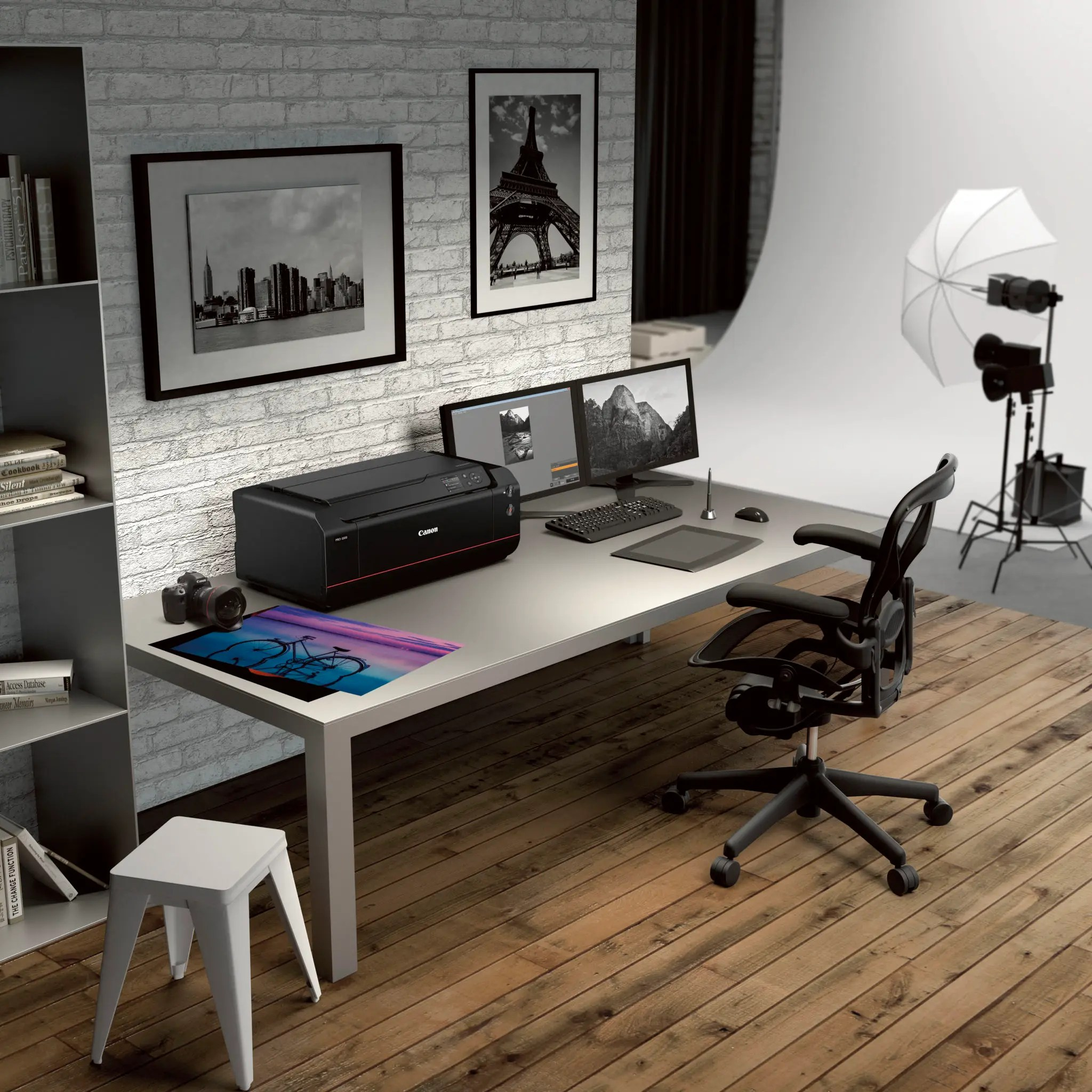 The Canon Imageprograf Pro 1000 Is A Very High End Printer