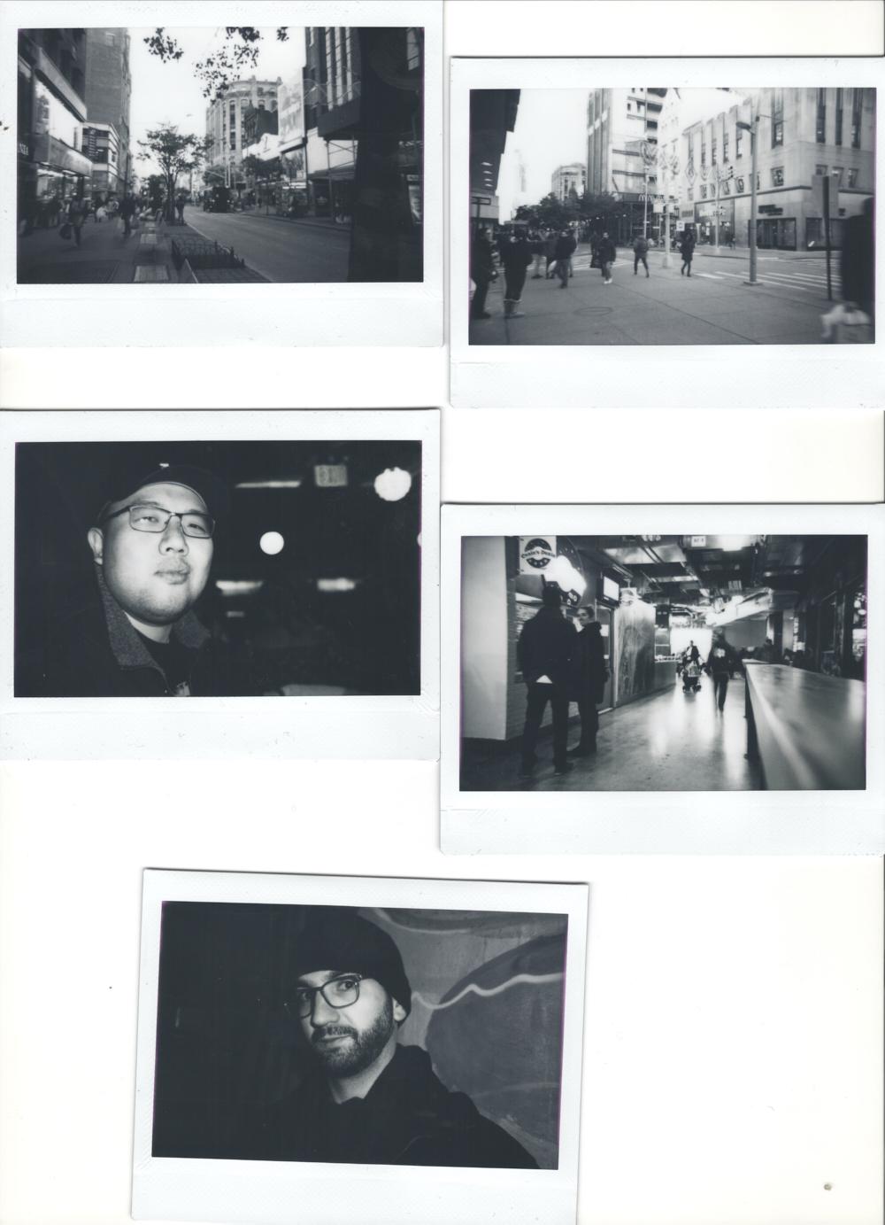 Instant Film Review Fujifilm Instax Wide Monochrome