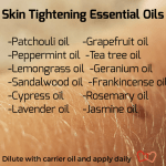 Skin Tightening With Essential Oils Sugar And Spells