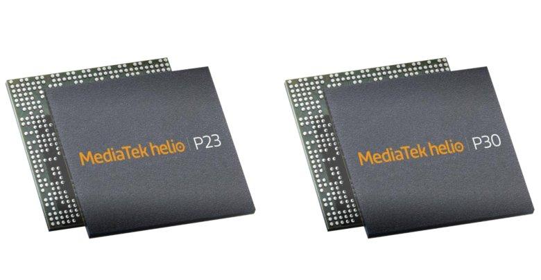 MediaTek Helio P23 / P30 released featured