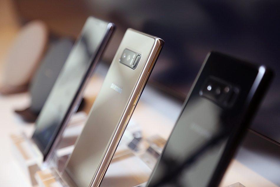 Samsung Galaxy Note 8 Hands-on Camera