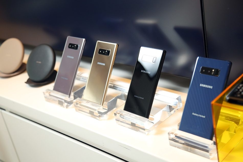 Samsung Galaxy Note 8 Hands-on images colors