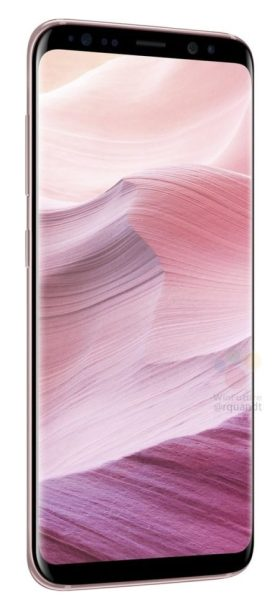Samsung Galaxy S8 Pink Color 2