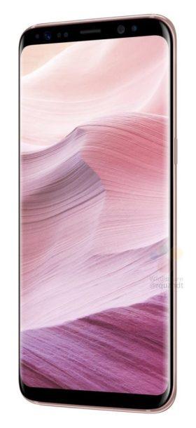 Samsung Galaxy S8 Pink Color