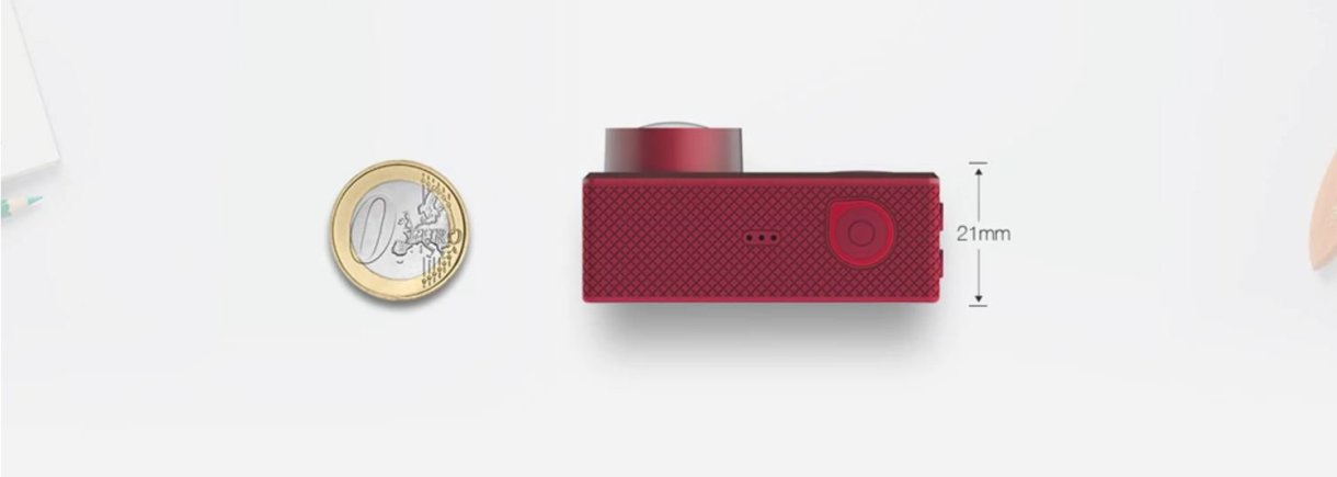 Elephone REXSO Explorer Dual 4K Action Camera - design 1