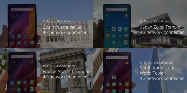 Xiaomi Mi MIX 2 4G Global LTE 1