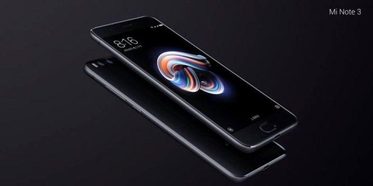 Xiaomi Mi Note 3 – 1