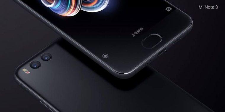 Xiaomi Mi Note 3 – 2