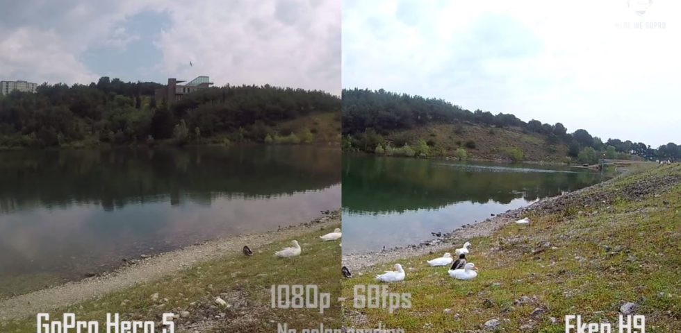 eken h9r 4k action camera – compare with go pro 5 1
