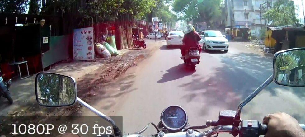 eken h9r 4k action camera – sample