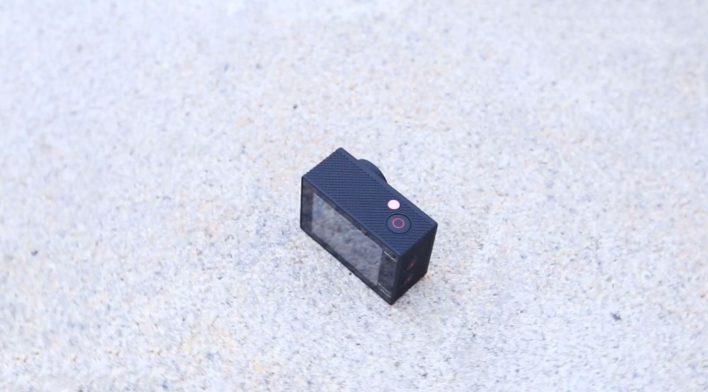 Furibee H9R 4K Action Camera - top