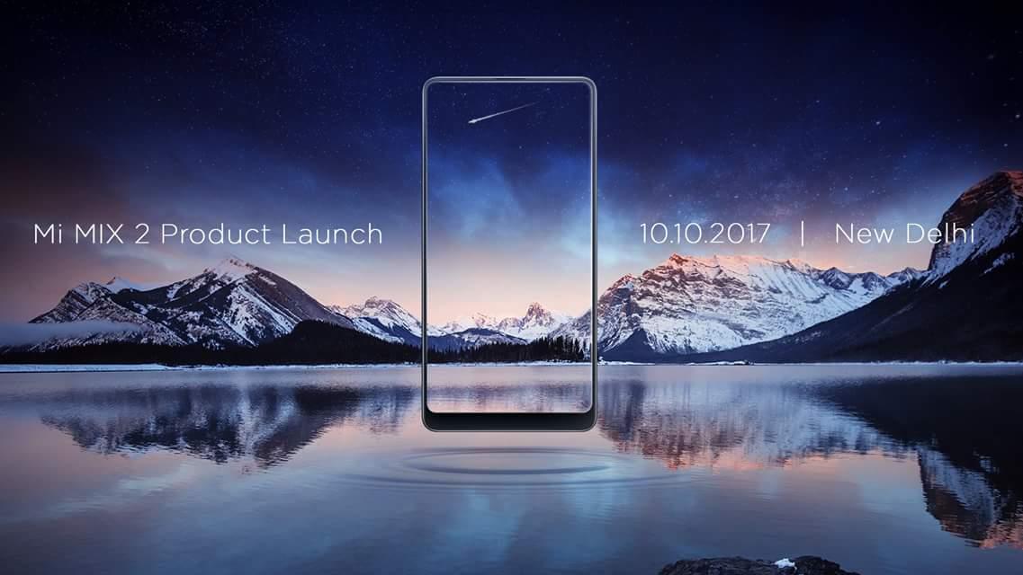 Xiaomi Mi MIX 2 release date India
