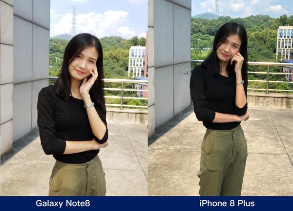 iPhone 8 Plus Vs Samsung Galaxy Note 8 Camera Comparison - Portrait Mode 1