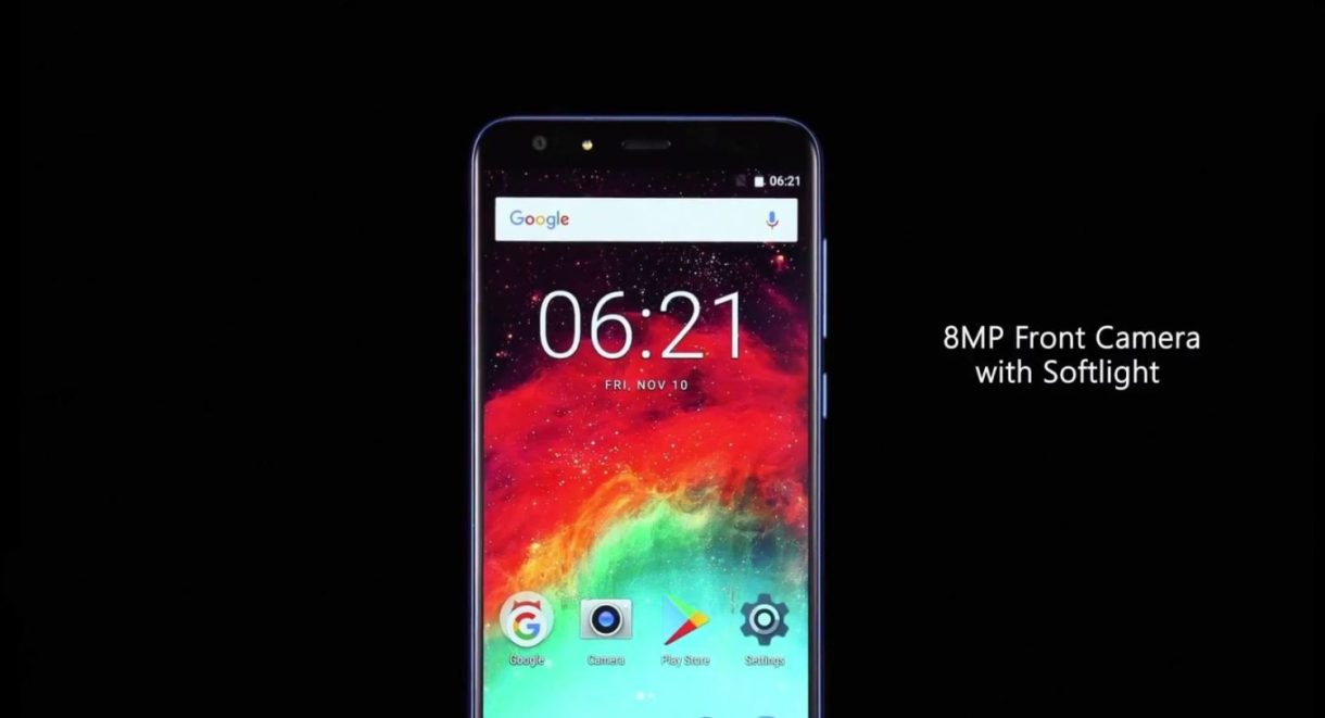 Ulefone MIX 2 Preview - camera front