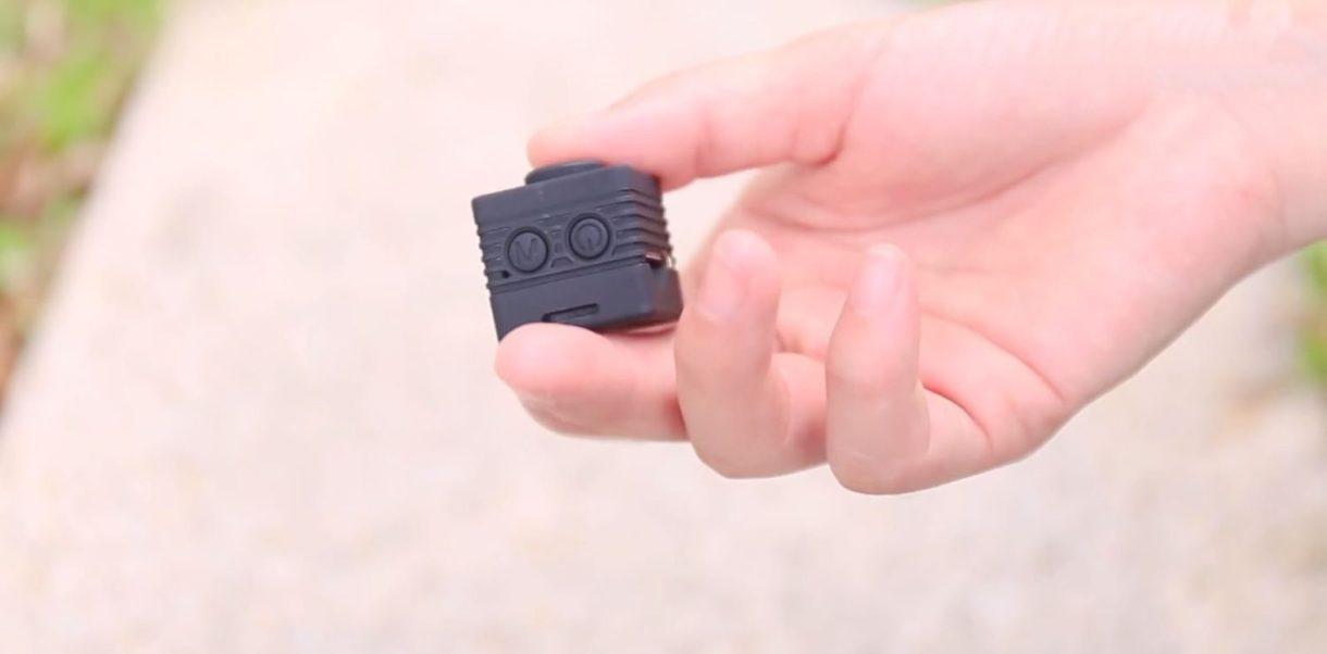Quelima SQ12 Mini DVR Review - buttons