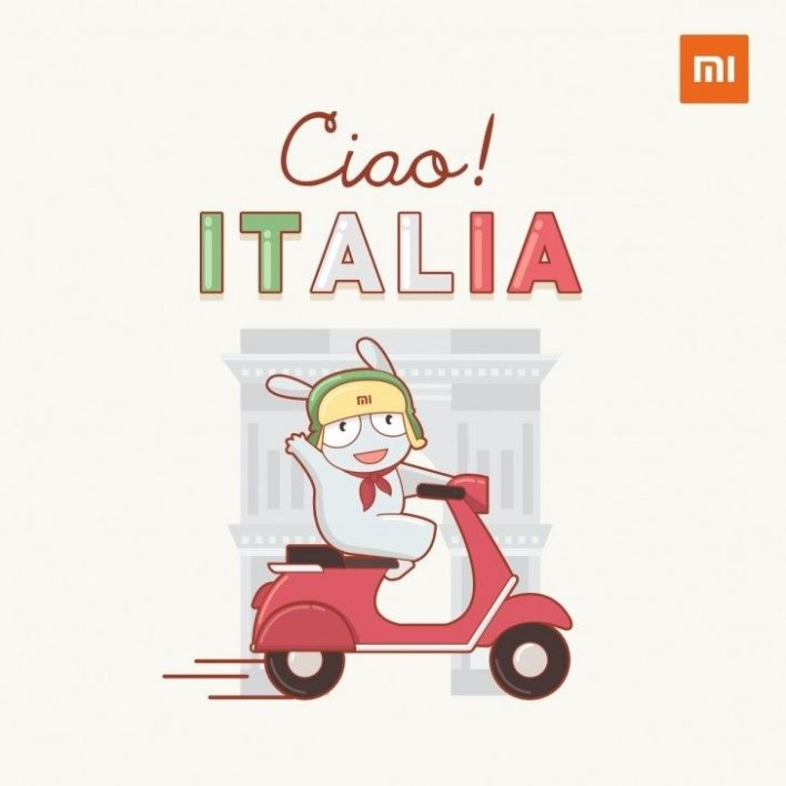 Xiaomi Italy Official Soon