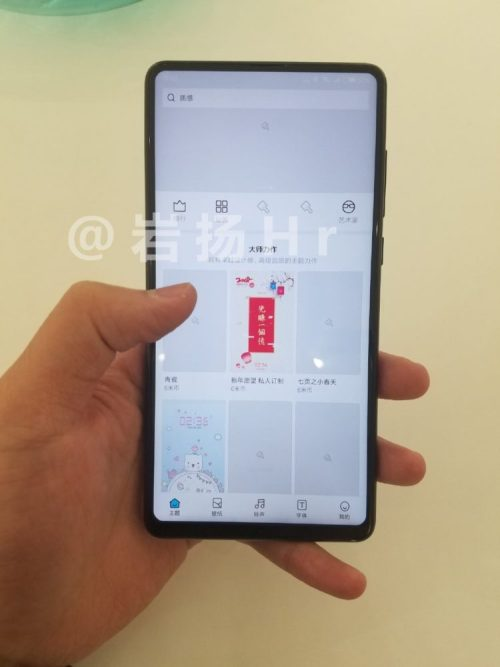 Xiaomi Mi MIX 2S Hands-On Image leaked