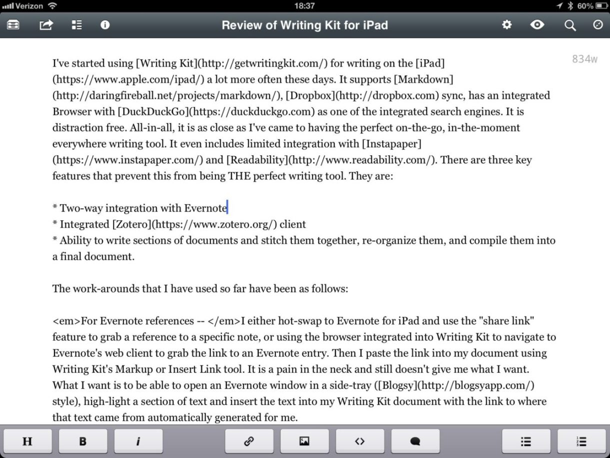 5 Best Writing Apps For Writing on iPad in 2018 - Writing Kit