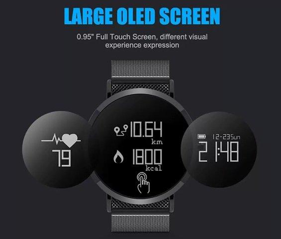 CV08 Smart Bluetooth Sport Watch screen