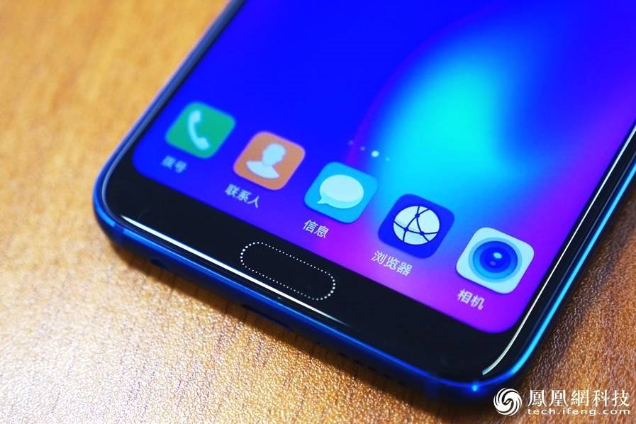 Huawei Honor 10 Hands-On Review Fingerprint