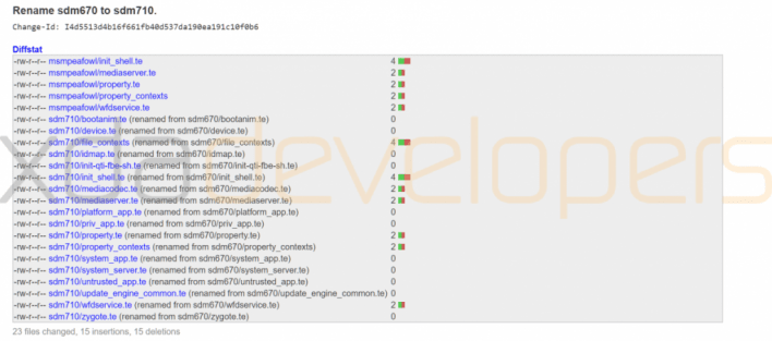 Snapdragon 710 renamed