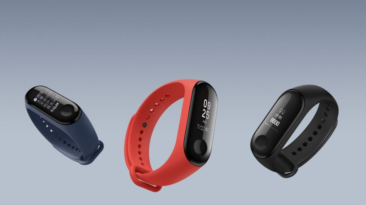 xiaomi-mi-band-3 colors