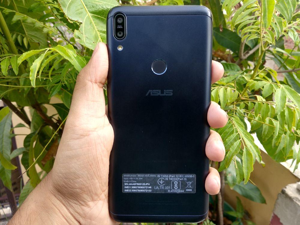 ASUS Zenfone Max Pro M1 Review - Back