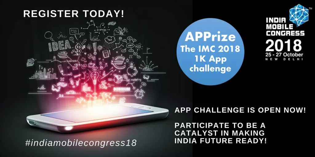 India Mobile Congress 2018 APPRIZE Challenge