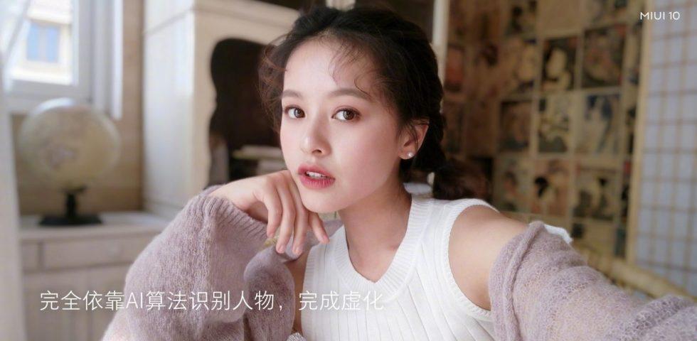 Top 5 Features of MIUI 10 – AI Portrait Bokeh effect on Xiaomi Phones