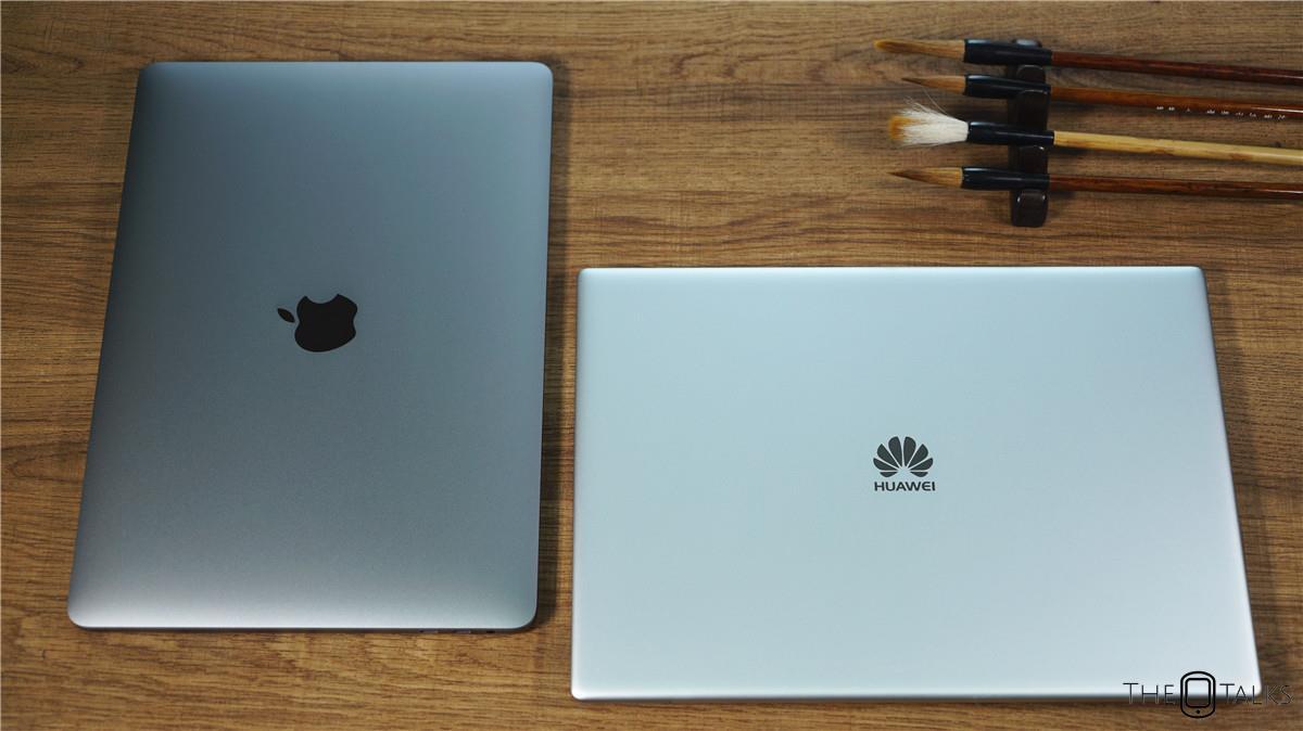 Huawei MateBook X Pro Vs Apple MacBook Pro 2018 Comparison Review - Material Comparison