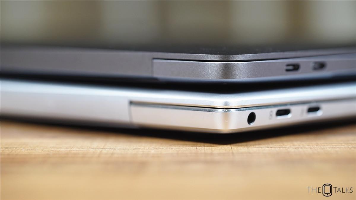 Huawei MateBook X Pro Vs Apple MacBook Pro 2018 Comparison Review - Side Comparison