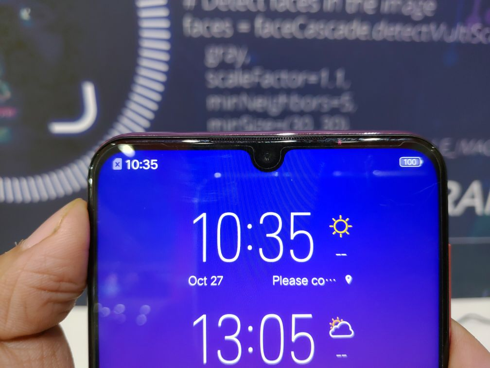 Vivo Y97 Hands-On - Front Camera