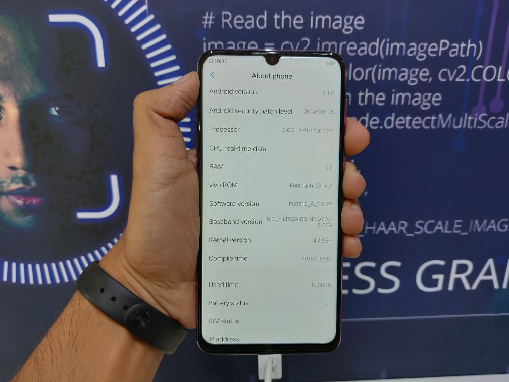 Vivo Y97 Hands-On - Specs
