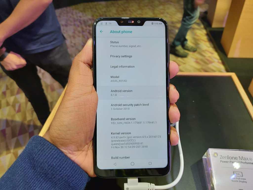 ASUS Zenfone Max M2 - OS