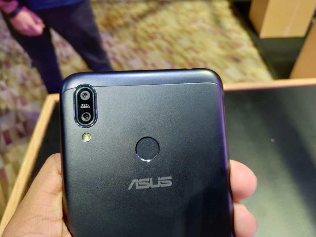 ASUS Zenfone Max M2 - Rear camera