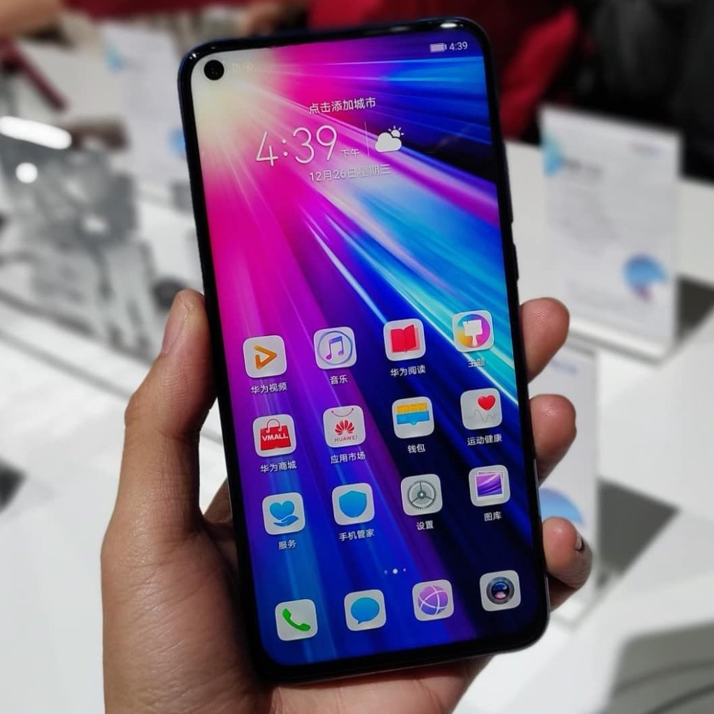 Honor V20 Hands-On - Display