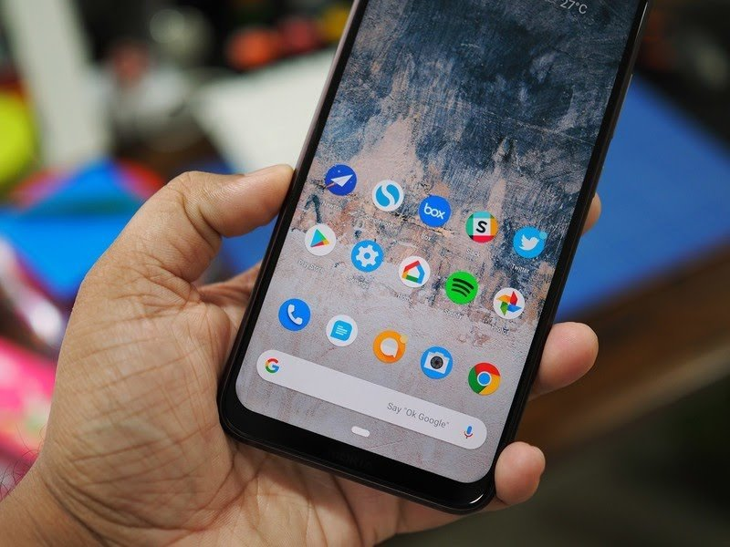 Nokia 8.1 Hands-On Review Screen