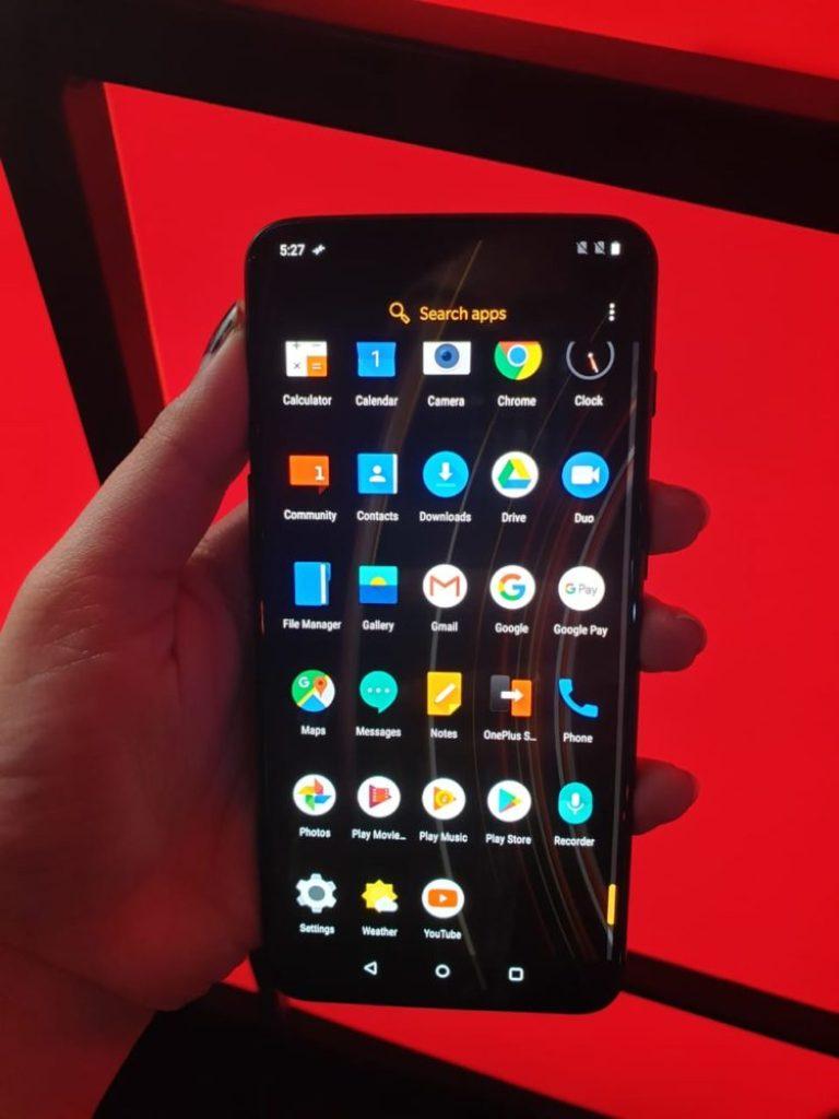 OnePlus 6T McLaren - Display 3