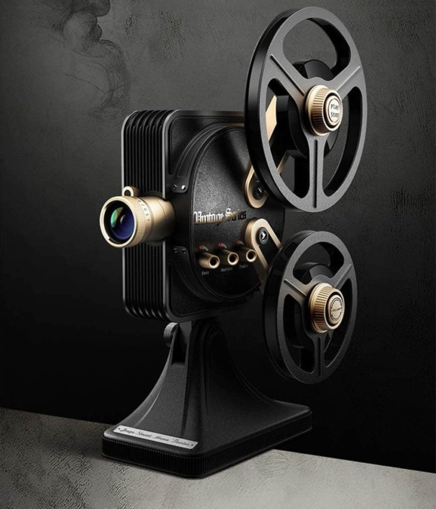 JMGO 1895S LED Retro Projector Home Theater