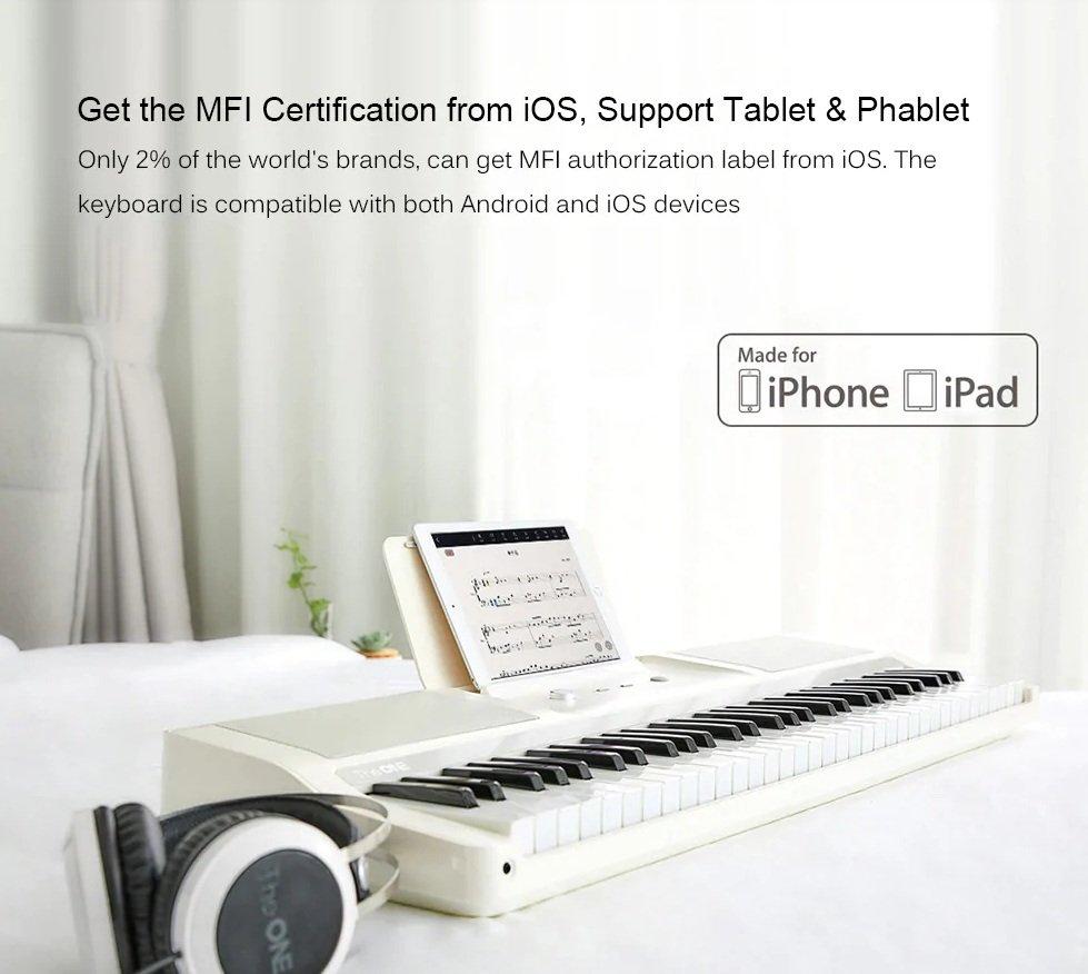 Xiaomi Youpin Smart Electronic Organ - Compatibility
