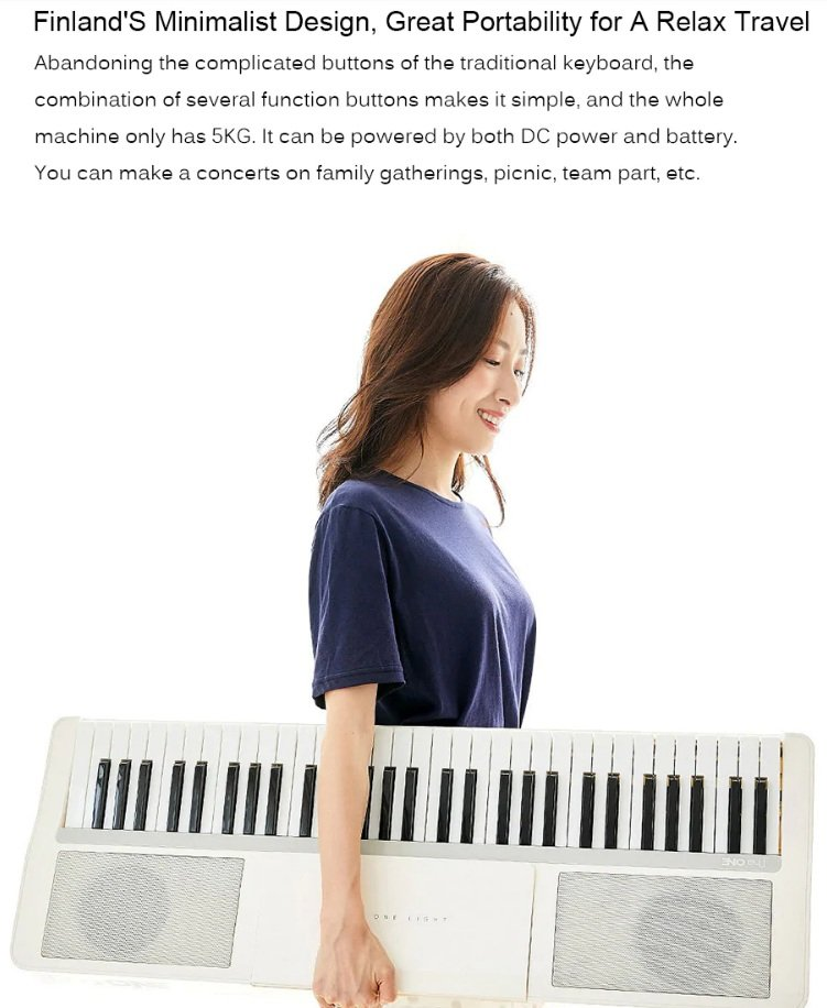 Xiaomi Youpin Smart Electronic Organ - Design