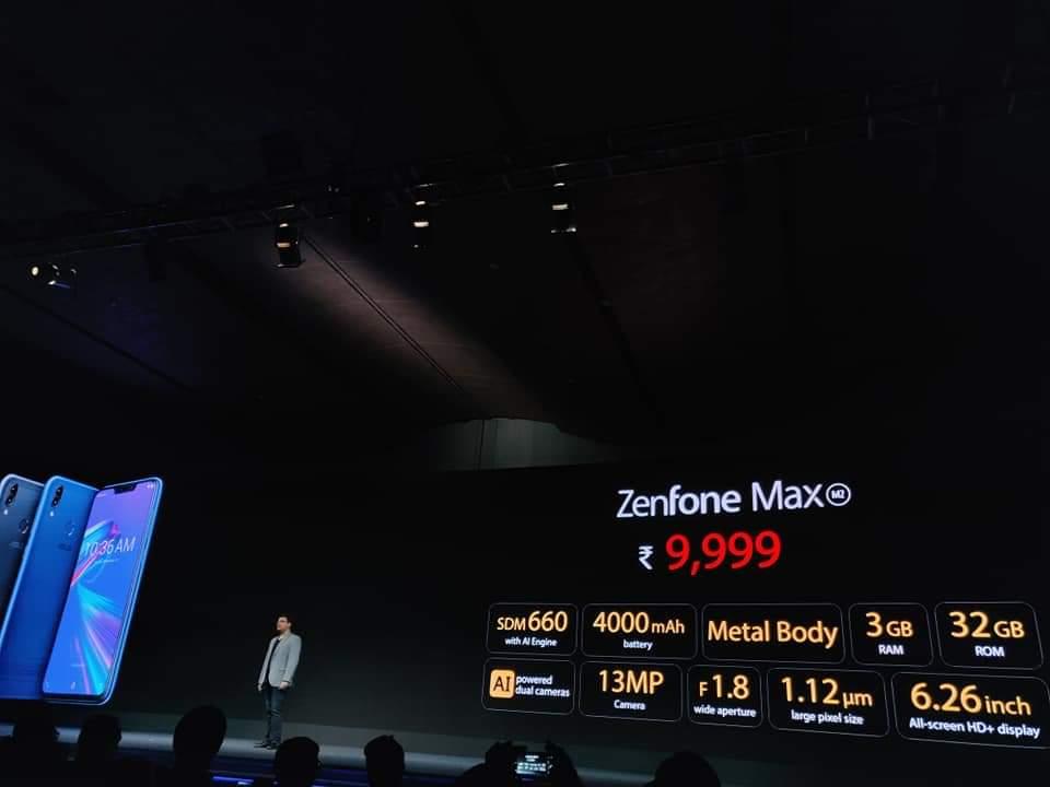 Zenfone Max M2 of 3 - 32GB