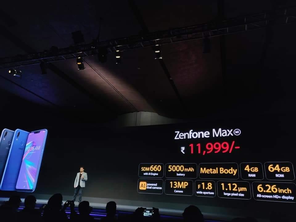 Zenfone Max M2 of 4 - 64GB