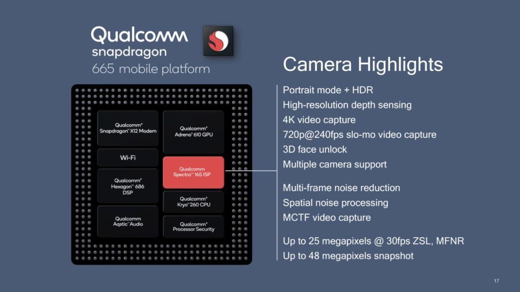 Snapdragon 665 vs Snapdragon 675 vs Snapdragon 730 - SND 665 Camera Features