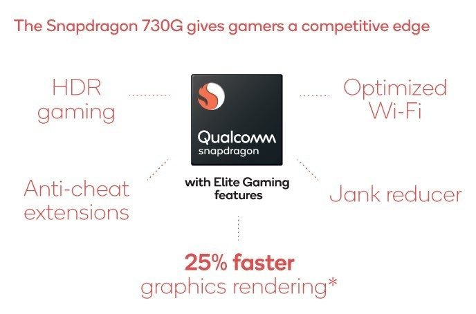 Snapdragon 730 vs Snapdragon 730G Comparison - SD 730G Specs