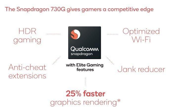 Snapdragon 730 vs Snapdragon 730G Comparison - SD 730G Specs