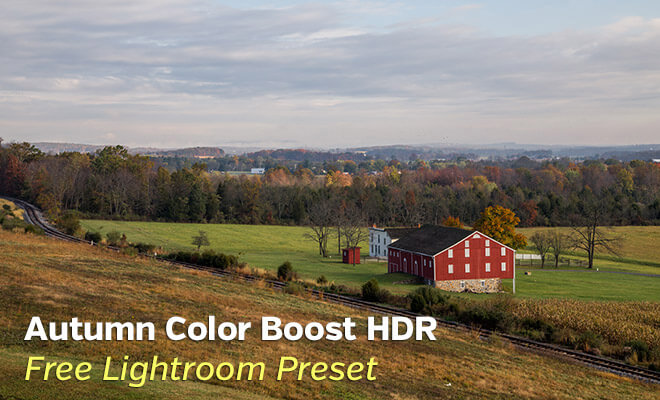 Autumn Color Boost HDR Lightroom Preset