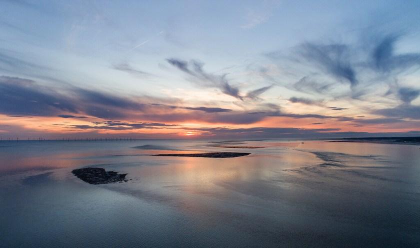 Zonsondergang over Sandbars