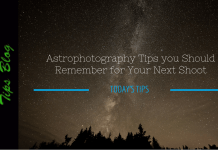 Astrophotography Tips